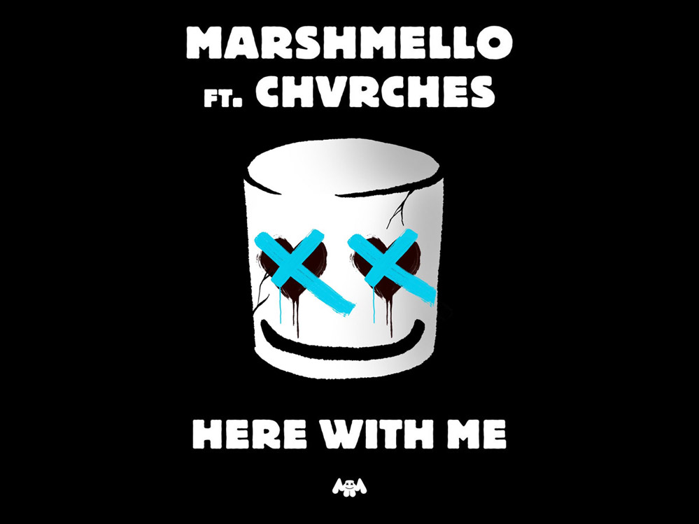 Marshmello: Here With Me ft CHVRCHES - перевод песни